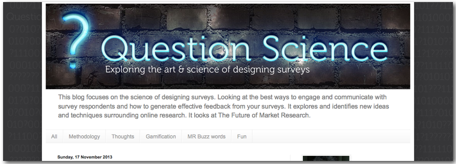 question science lightspeed Blog market research