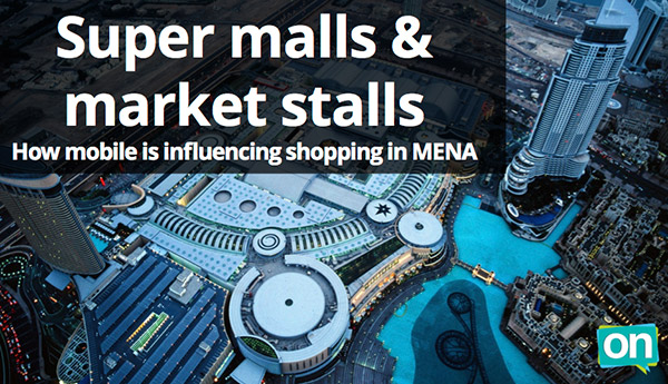 MENA mobile shopping report
